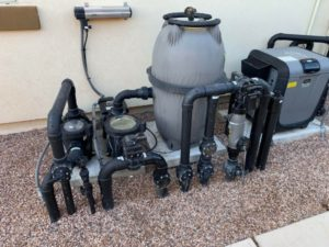 Jandy Pool Equipment Pump System