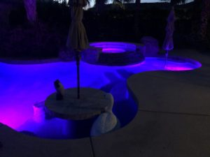 Pool LED Lighting Pool Care Solutions