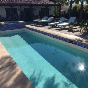 Pool Replaster Tile LED Lights Pool Care Solutions Palm Springs