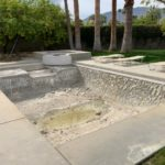old pool plaster removed and new tile installed Pool Care Solutions