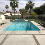 Raised Spa Edition Exterior End of Existing Pool in Palm Springs-Pool Care Solutions